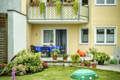 Freisitz / Blick vom Garten
